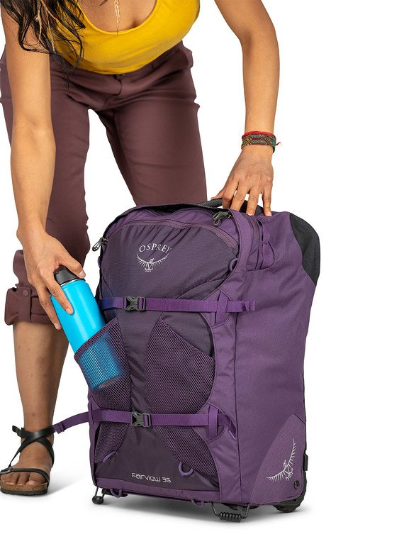 wheeled backpack pros