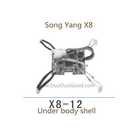 Song yang x8 quad-copter receiver board