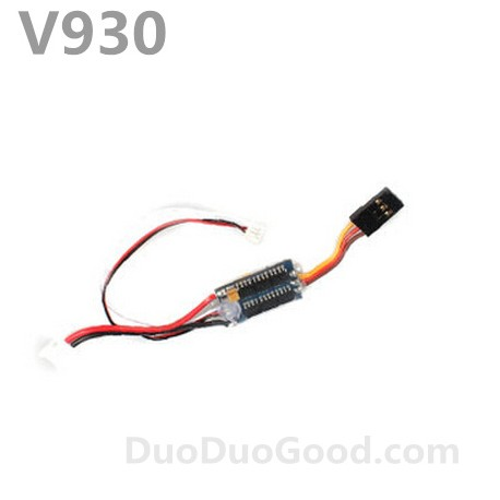 V930 helicopter parts, ESC, speed governor, wltoys power