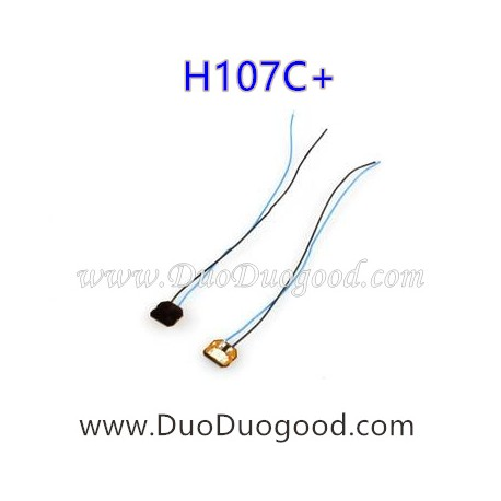 HUBSAN H107C+ X4 Plus Drone parts-Led Blue