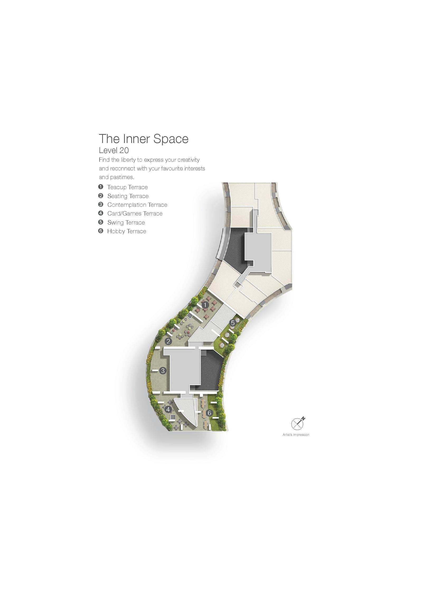 Duo Residences The Inner Space