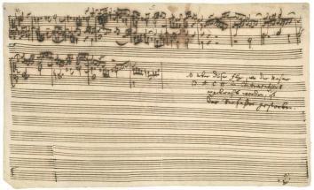 Bach - Die Kunst der Fugue
