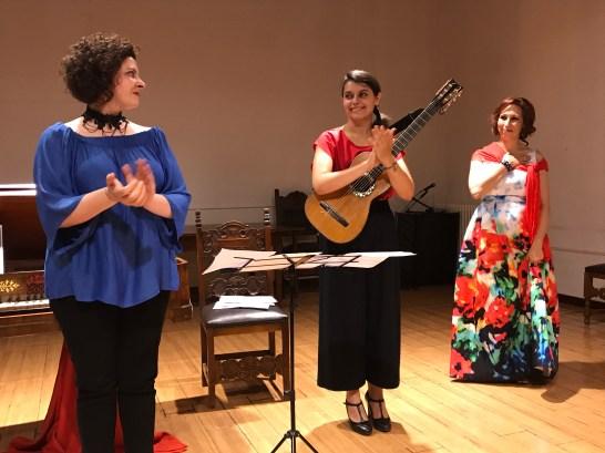 Formigine, Sala della Loggia, Ispania Liberale e Romantica, con mezzosoprano Anna Tonna - 2017