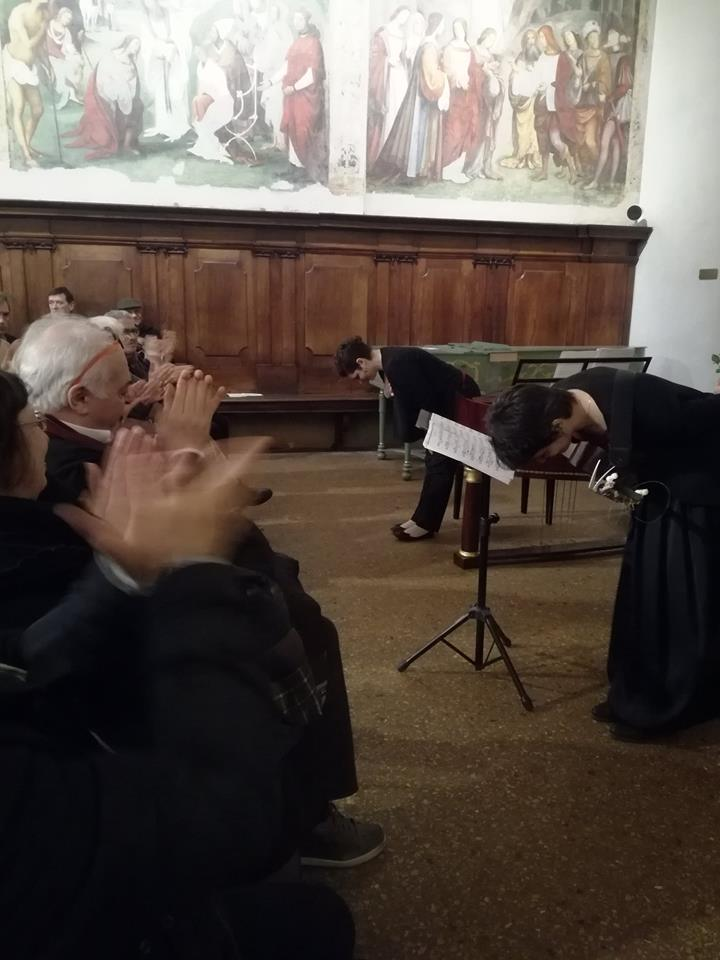"Bologna, Auditorium Santa Cecilia, ""San Giacomo Festival"", febbraio 2018"