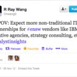 Social software urges vendors to build new partnerships