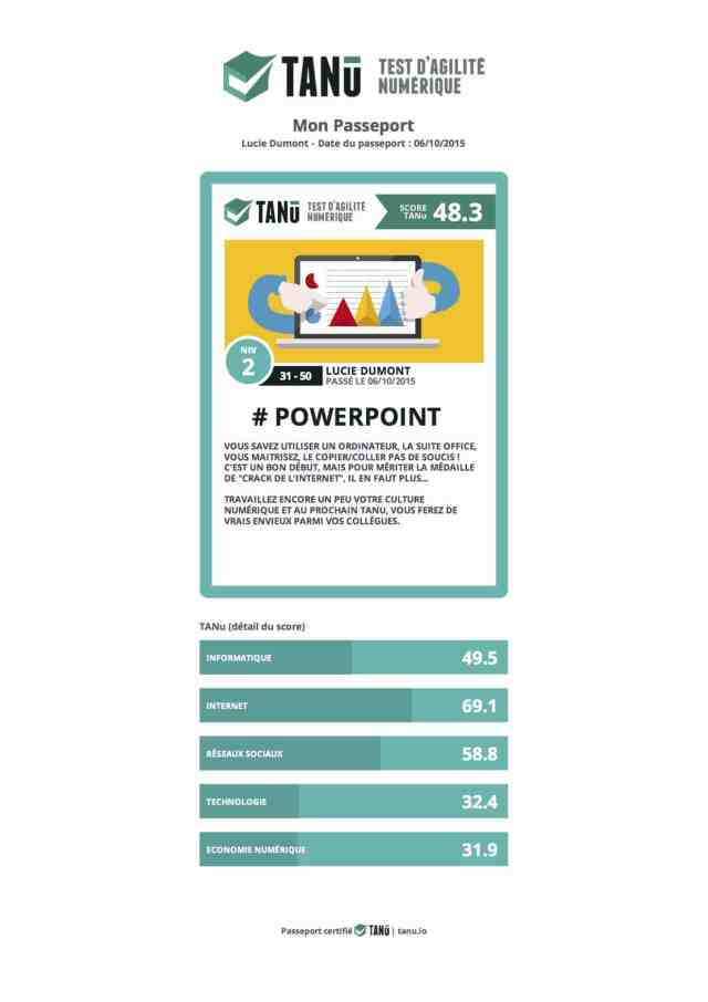 passeport TANU powerpoint