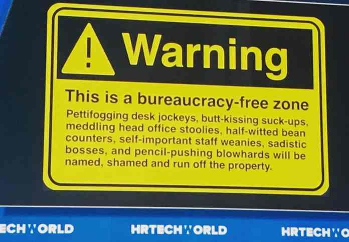 bureaucracy-free-zone