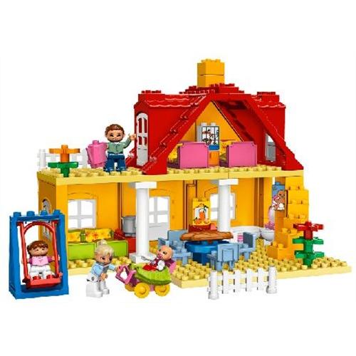 geel duplo huis