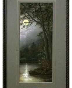 Night Landscape _ Full Moon