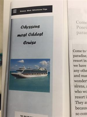 YOUNG SHIELA PBL Odyssey Travel Brochure