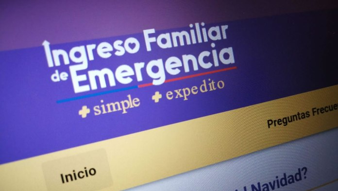 Ingreso Familiar de Emergencia 2021