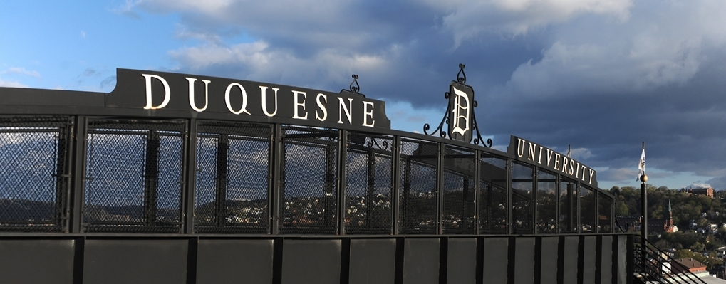 Visiting Duquesne University and Pittsburgh  Duquesne University