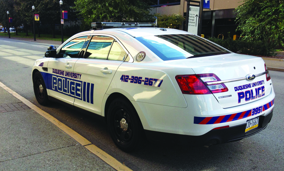 Public Safety Equipped With New Car The Duquesne Duke