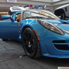 (Claire Murray / Asst. Photo Editor) A blue 2010 Lotus Exige S from Wexford