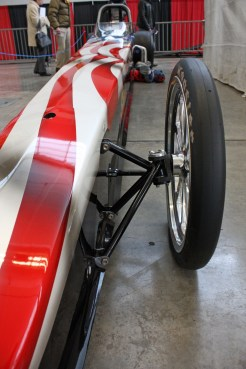 (Claire Murray / Asst. Photo Editor) a 2013 Competition Dragster from Charleroi, Pa.