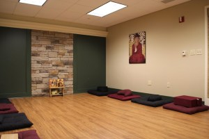 Photo by Claire Murray | Photo Editor. The Interfaith Meditation Room will feature benches and cushions for prayer.