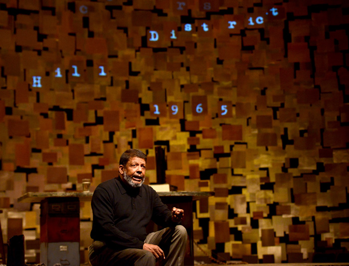 (Photo Courtesy of Pittsburgh Public Theater) Eugene Lee performs in the Pittsburgh Public Theater's production of How I Learned What I Learned. The show runs until April 5.