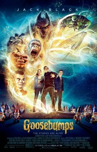 "Coming out on the 16th, ""Goosebumps"" brings many of the monsters from the classic children's series to life"