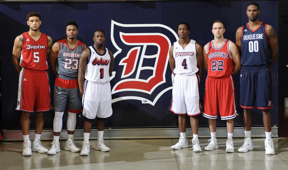 Men's basketball unveils four new looks for 2015-16 season ...