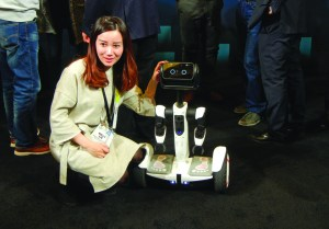 "While robots like this one, the ""Segway Robot"" presented in Las Vegas on Jan. 6, may one day have the capabilities to teach, that's no excuse for disrespecting any human professors out there now."