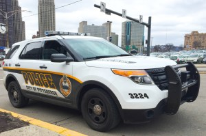 By Joseph Guzy | Photo Editor A City of Pittsburgh Police car. High school students who have had run-ins with the law might be discouraged from applying to colleges do to application questions.