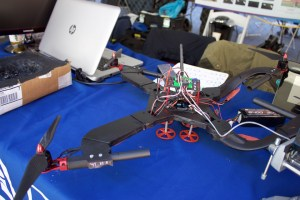 Seth Culp-Ressler | Features Editor This October 2015 photo shows a quadcopter created by biomedical engineering students from Duquesne. BME is a new major at Duquesne that's still growing.