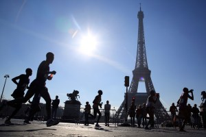 Runners participate in the 40th Paris Marathon, with the Eiffel Tower in the background. Learning new languages allows for students to have all sorts of new experiences that they would've otherwise missed out on, such as traveling abroad and making new friends.