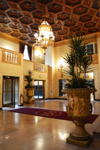 Madison Pastrick   Staff Writer A lobby in the Omni William Penn Hotel.