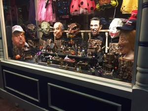 Hallie | Staff Writer The storefront window of S. W. Randall Toyes and Giftes is currently all decked out  for Halloween.