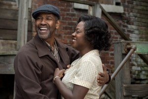 """Courtesy of Paramount Pictures Denzel Washington and Viola Davis reprise their roles as Troy and Rose Maxson from the Broadway revival of """"Fences"""" for the film adaptation. Both Washington and Davis were nominated for Golden Globes for their roles, with Davis winning last Sunday."""