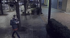 Courtesy of Pittsburgh Police This surveillance camera footage shows Dakota James and using his phone in Katz Plaza in the Cultural District.