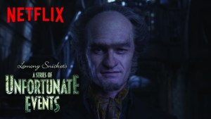 "Courtesy of Netflix Neil Patrick Harris stars as Count Olaf in Netflix's adaptation of the beloved series of novels. The first eight episodes cover the events of the first four novels, ending with ""The Miserable Mill."""