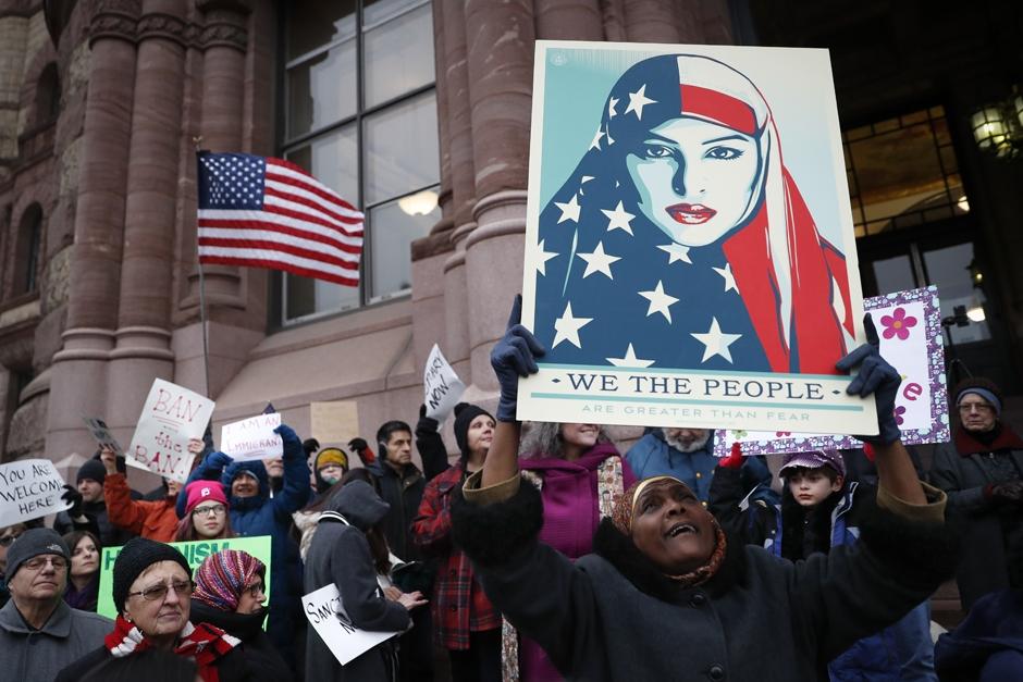 trump executive order sets agenda police criminalize protesters