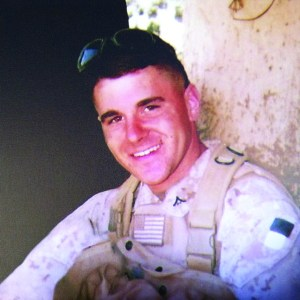 """Courtesy of Emma Ferrick Marine Sgt. Ryan Lane was killed in action in Afghanistan in 2009. Duquesne ROTC is sponsoring a push-up contest to raise money for the annual """"Run for Ryan."""""""