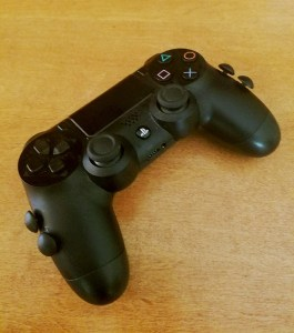 A modified PS4 controller