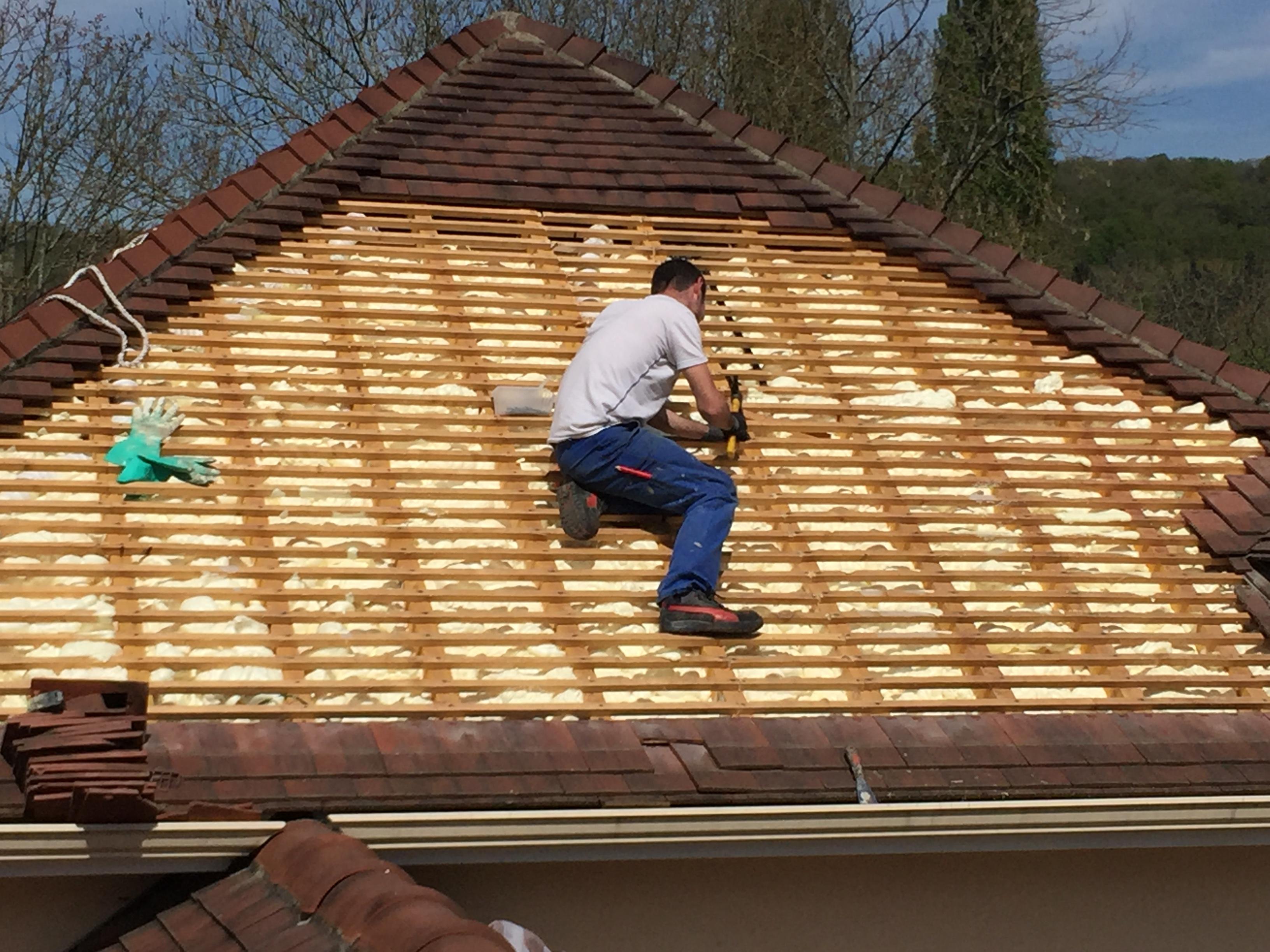 Isolation d'une toiture par l'extérieur à Chevreuse ...