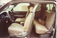 2000-2004 Toyota Tundra Access Cab Front and Back Seat Set ...