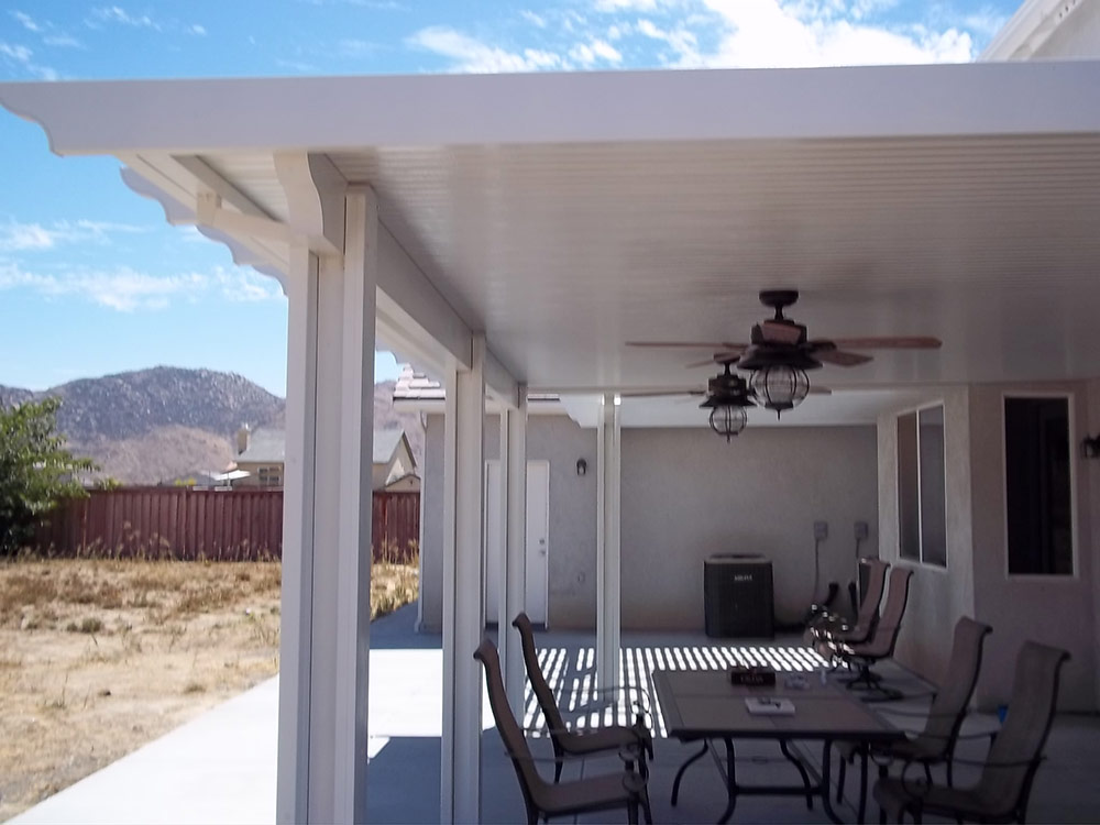 Weatherwood Californian Solid Patio Covers  Duralum