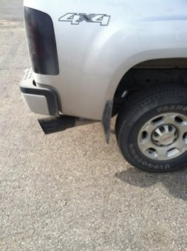 pictures of black exhaust tips chevy