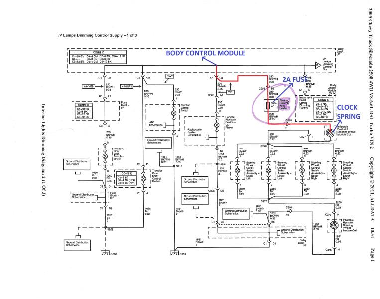 Toyota Steering Wheel Control Wiring Diagram, Toyota, Free