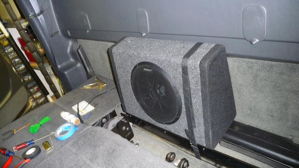 Kicker 2 Ohm Subwoofer Wiring Diagram Diy 10inch Kicker Bass Station Sub Amp Install Chevy And