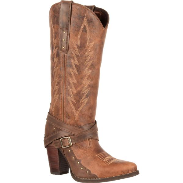 High Heeled Cowgirl Boots - Cr Boot