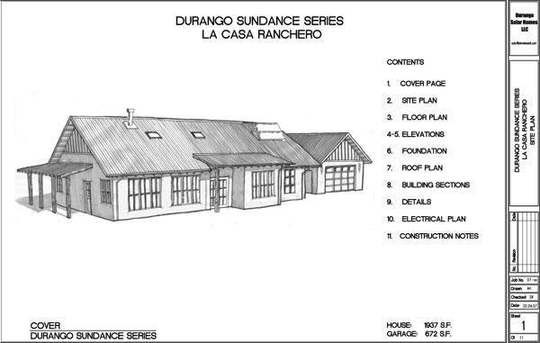 Solar Home Building Plans Durango Solar Homes