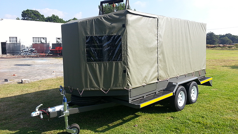 Cattle Canvas Cover Trailers Dura Trailers
