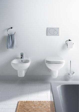 Duravit  Bathroom design series DCode  washbasins toilets bidets urinals tubs showers