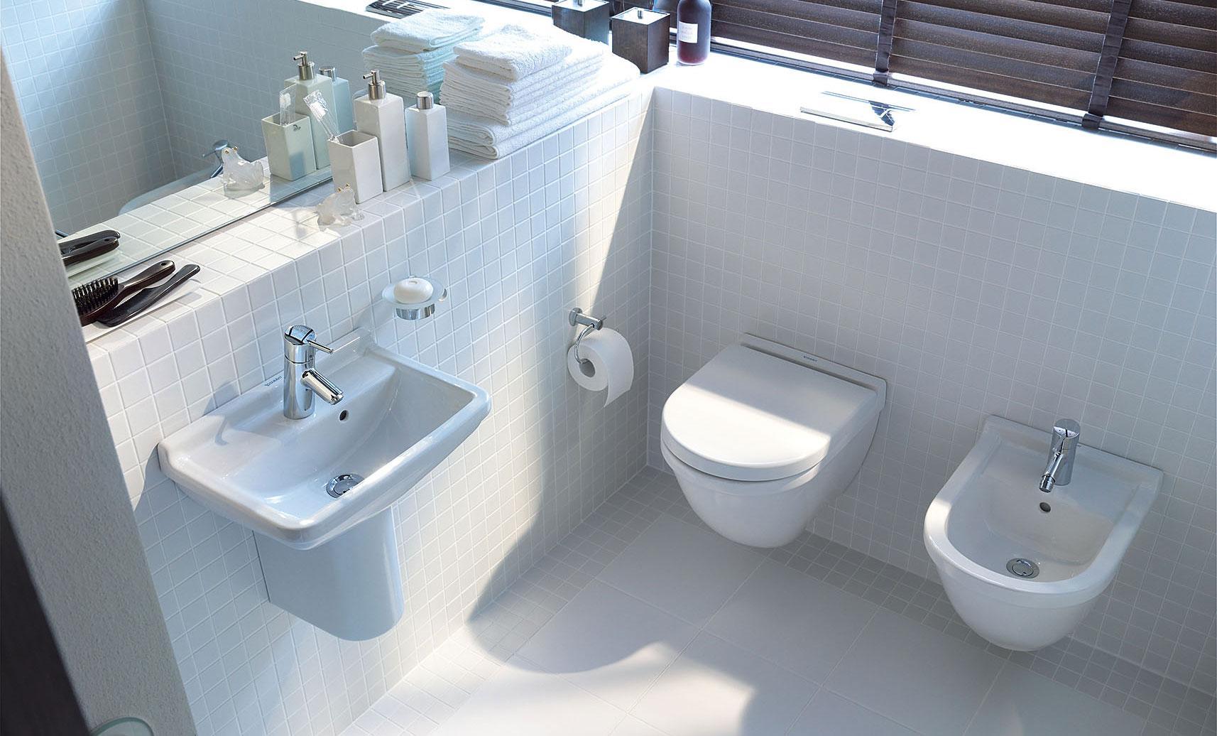 Gaestebadevaerelse Ideer Til Sma Badevaerelser Duravit