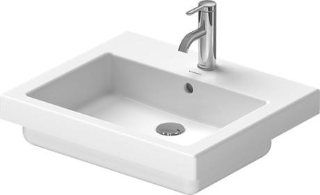 vero vanity basin 031555 duravit