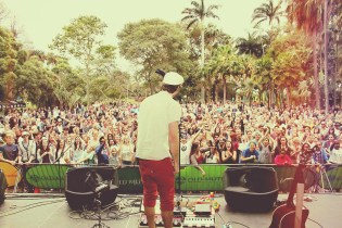 Old Mutual Music at the Lake - Jeremy Loops & The Mediators. Photo: Durbanite