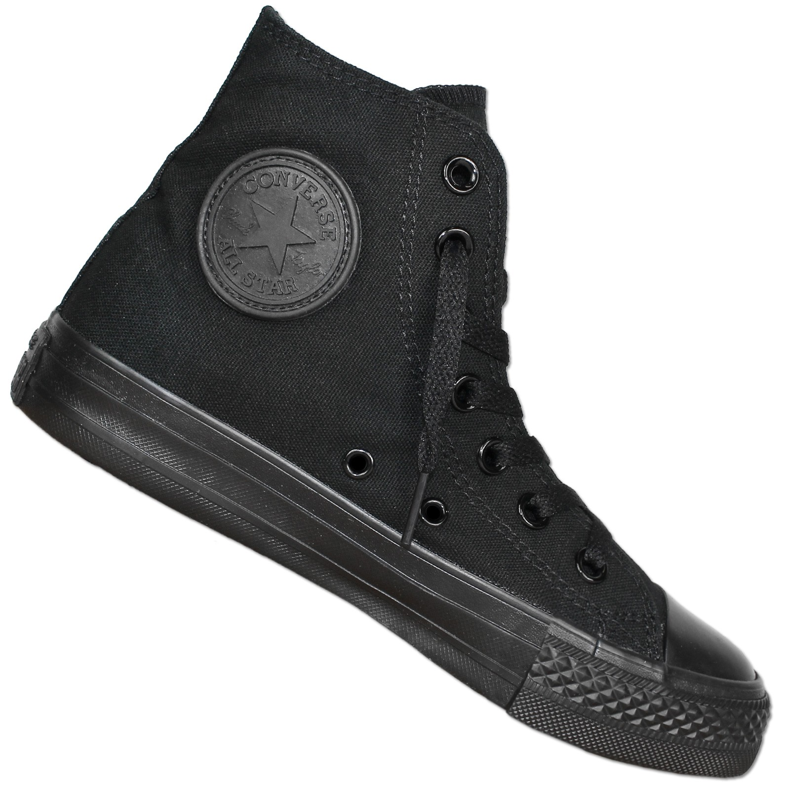 Converse Chuck Taylor All Star Hi Mono Black Turnschuhe