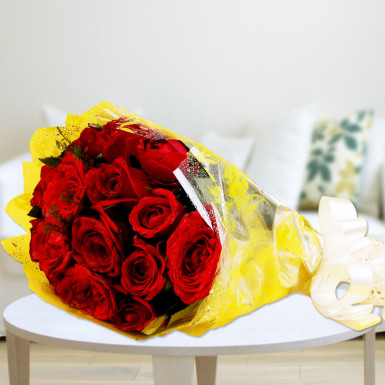 Perfect Red Rose Bunch Delivery Durgapur